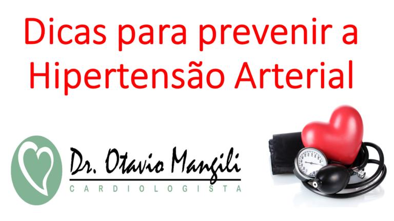Dicas para prevenir a Hipertensão Arterial